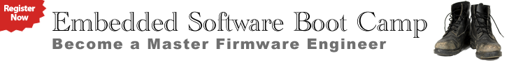 embedded software boot camp