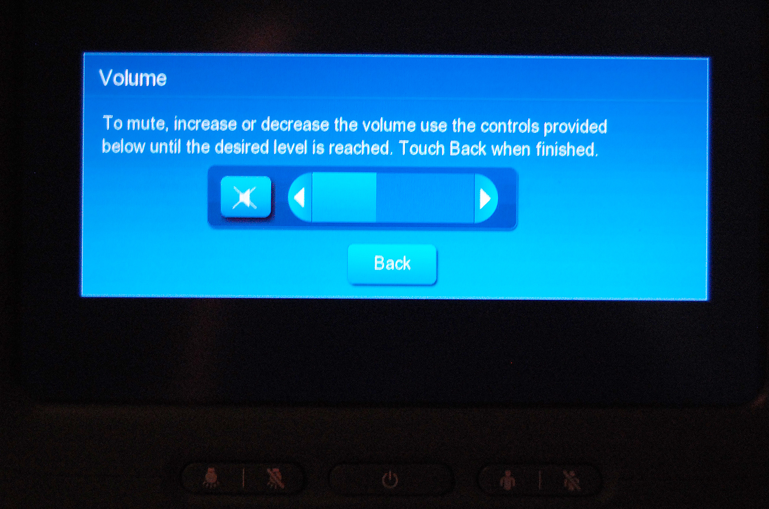 How to lockup the in-flight entertainment system on a Boeing 777
